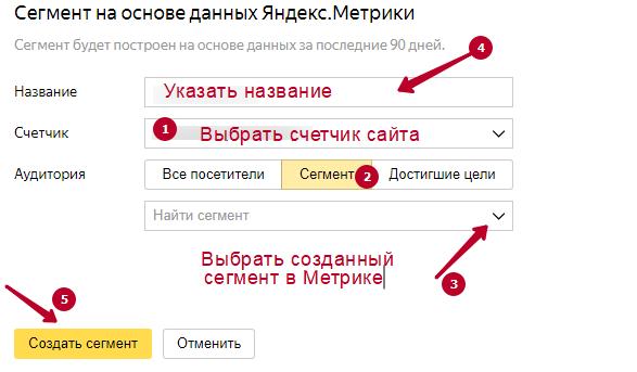 Як знайти схожих користувачів для націлювання за допомогою Я.Аудіторій? нюанси налаштувань
